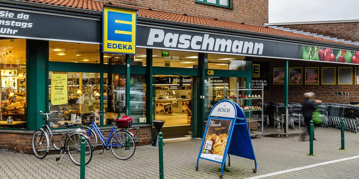 Moers - Asberg - Römerstraße - EDEKA Paschmann