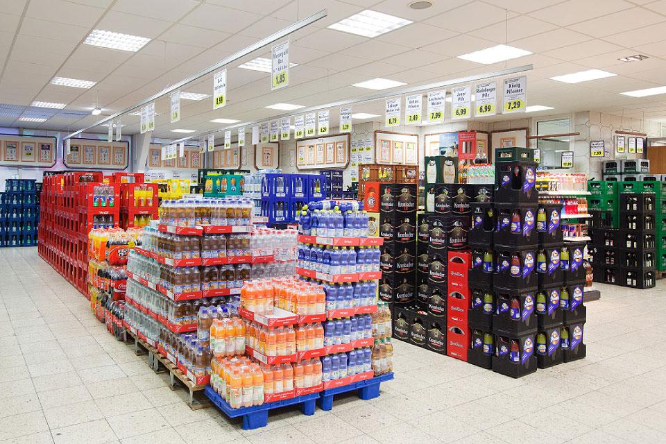 Graßhofstraße - Getränke