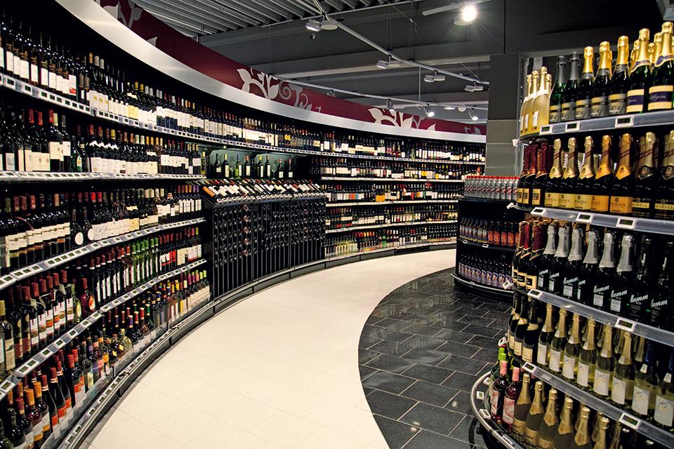 Suitbertusstraße - Wein