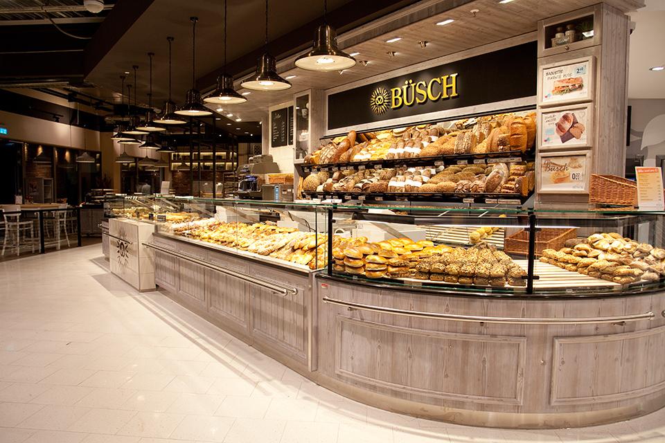 Suitbertusstraße - Bäcker Büsch