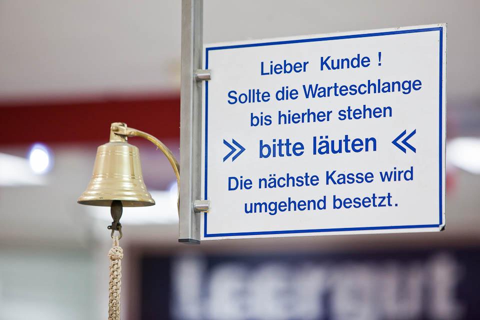 Luxemburger Allee - Kassenbereich